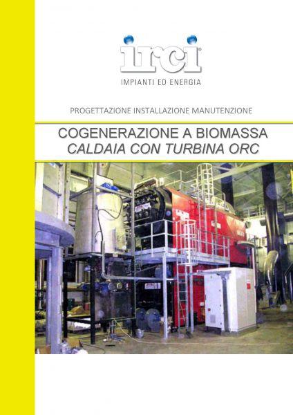 Scheda Prodotto Caldaia Biomassa
