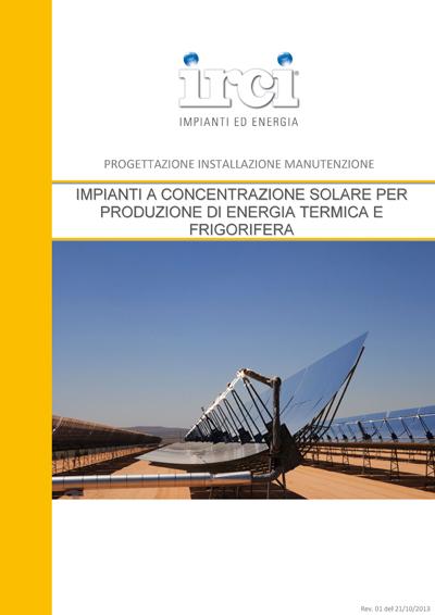 Scheda_Prodotto_Impianto_CONCENTRAZIONE-SOLARE_IRCISpA_Rev01_21-10-2013_Page_1