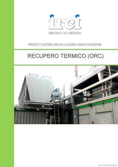 Scheda_Prodotto_Impianto_RECUPERO-TERMICO-ORC_IRCISpA_Rev01_21-10-2013_Page_1