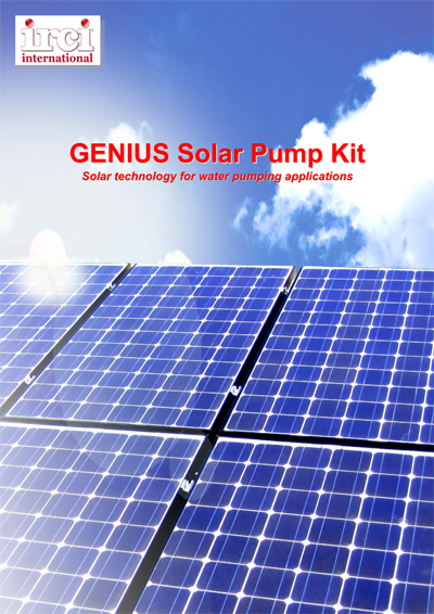 Brochure_GENIUS SOLAR PUMP KIT_Irci International_def-1