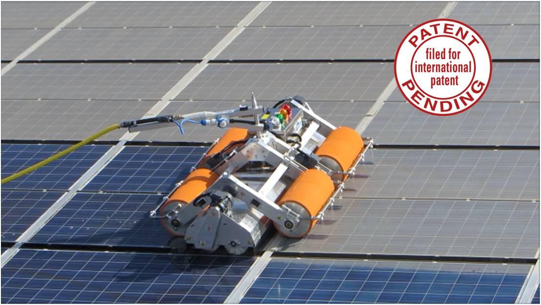 Macchina lavaggio pannelli fotovoltaici  Irciwash