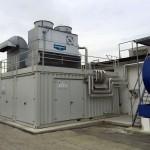 Foto impianto di Trigenerazione in container